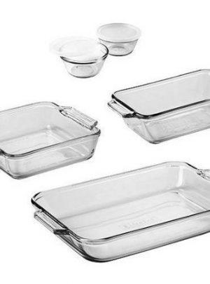 Anchor Hocking 7-Piece Bakeware Set