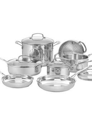 Cuisinart 11-Piece Chef's Classic Cookware Set