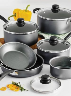 Tramontina PrimaWare 10-Piece Nonstick Cookware Set