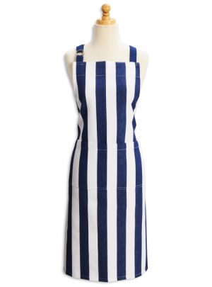 Beach Stripe Kitchen Apron, 26″ x 36″