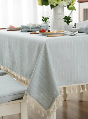 Modern Simple Cotton Rectangular Tablecloths