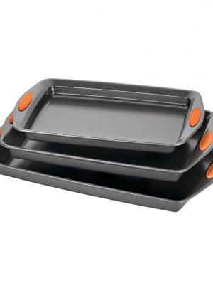 Rachael Ray Oven Lovin' Bakeware 3-Piece Nonstick Pan Set