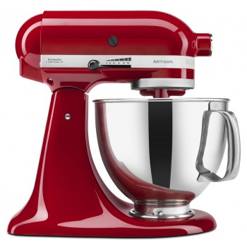 KitchenAid Artisan Tilt-Head Stand Mixer with Pouring Shield, 5-Quart, Multiple Colors Offered